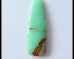 15 Ct Natural Chrysoprase Gemstone Cabochon