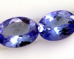 TANZANITE FACETED VIOLET BLUE 1.45 CTS RNG-181