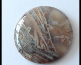 41.8 ct Natural Bamboo Agate Gemstone Cabochon