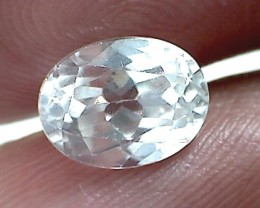 'Sparkles Like  A Diamond' - 2.95ct Colorless White Zircon, Cambodia, VVS C