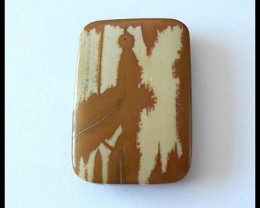 50 ct Natural Owyhee Jasper Gemstone Pendant Bead