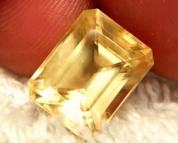 8.79 Carat VVS Golden Yellow Calcite