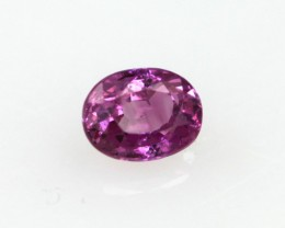 0.28cts Natural Sri Lankan (Ceylonese) Pink Sapphire Oval Cut