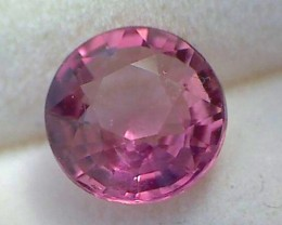 .90ct Lovely Purple Pink Lusterous Round Tourmaline Near Flawless VVS - TH4