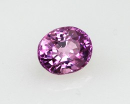 0.42cts Natural Sri Lankan (Ceylonese) Pink Sapphire Oval Cut