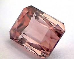 Tourmaline Sparkling 1.27ct  Scissor Cut Pink  VVS BB02