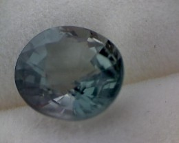 1.4ct Blue Green  Round cut Tourmaline, VVS  SL59