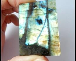 86.5 ct Natural Bright Labradorite Gemstone Pendant Bead