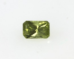 0.29cts Natural Australian Yellow Sapphire Radiant Cut