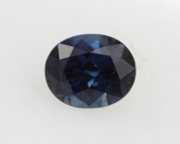 0.89cts Natural Australian Blue Sapphire Oval Cut