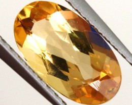 1.40 CTS PEACHY GOLD TOPAZ FACETED STONE PG-1723