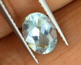 1.30 CTS AQUAMARINE FACETED STONE PG-1736