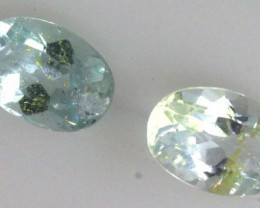 1.15 CTS AQUAMARINE FACETED STONES PARCEL (3 PCS) PG-1737