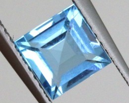 1.35 CTS BLUE TOPAZ FACETED STONE PG-1743