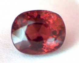 1.40Ct Quality Fiery Red Oval Spinel, Burma VVS TH16