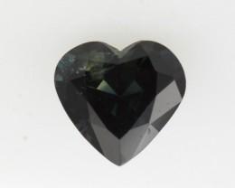 1.25cts Natural Australian Blue Sapphire Heart Shape