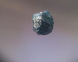 NATURAL-BLUE DIAMOND ROUGH-SIZE-2CTW,1PCS