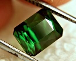 2.71 Carat Vibrant Green Nigerian VVS1 Tourmaline