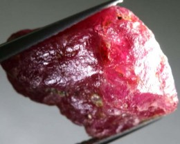 BURMA RUBY ROUGH RICH PINKY  RED   19 CTS RG-1422