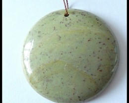 104.5cts Natural Serpentine Pendant Bead