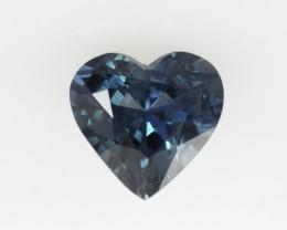1.03cts Natural Australian Blue Sapphire Heart Shape