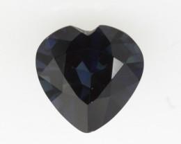 1.21cts Natural Australian Blue Sapphire Heart Shape