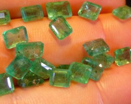 18.85cts Zambian Emerald lot , 100% Natural Gemstones