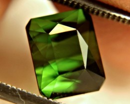 2.82 Carat Green Nigerian VVS Tourmaline - Gorgeous