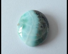 28.6cts Natural Larimar Gemstone Cabochon