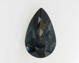 0.82cts Natural Australian Blue Sapphire Pear Shape