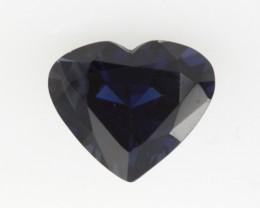 1.39cts Natural Australian Blue Sapphire Heart Shape