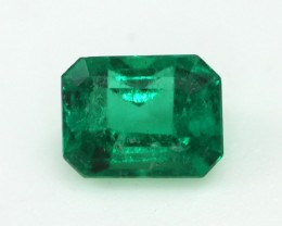 0.30cts Natural Emerald Emerald Step Cut