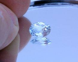 1.530Ct Aquamarine Natural