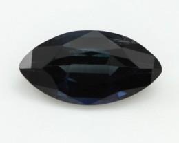 1.20cts Natural Australian Blue Sapphire Marquise Shape