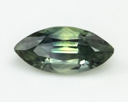 1.05cts Natural Australian Yeloow/Green Parti Sapphire Marquise Shape
