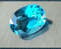 WONDERFULL 2.70 Cts EXCELLENT NATURAL LONDON  BLUE TOPAZ
