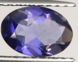 0.55 CTS TANZANITE  VIOLET BLUE PG-1801