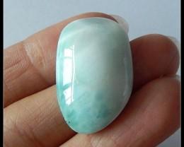 23 ct Natural Larimar Gemstone Cabochon,Peace Gemstone