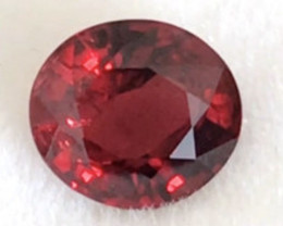 CERTIFIED 1.730ct Red Spinel - Burma,    THM23 H623