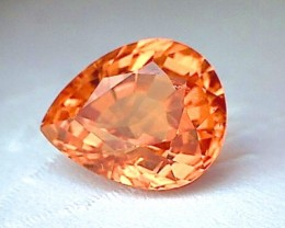 CERTIFIED 4.2ct Quality Mandarin Garnet IF/ VVS - 5C