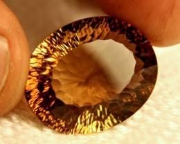 26.46 Carat VVS Golden Brown Brazilian Topaz - Superb