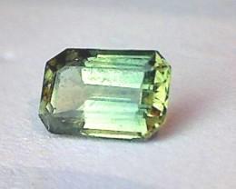 .8ct Emerald Cut Mint Green Sapphire Australia VVS A958