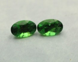 CHROME TOURMALINE OVAL SHAPED PAIR