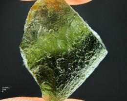 Moldavite - shiny specimen