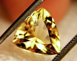 3.10 Carat Vibrant VVS Golden Beryl - Lovely
