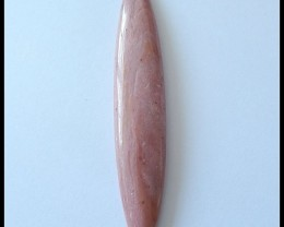94.9 Ct Natural Rhodonite Marquise Cabochon