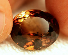 22.17 Carat VVS Bi-color Brazil Topaz - Gorgeous