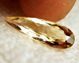3.55 Carat VVS South American Golden Beryl