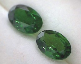1.65ct Intense Forest Green Oval Chrome Diopside VVS NA01