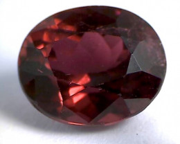 2.8ct Red Tormaline with Purple-Orange Undertone , VVS NA03